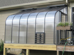 Polycarbonate Greenhouses for Sale
