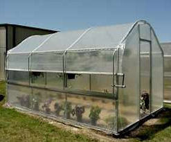Polyfilm Covered Greenhouse