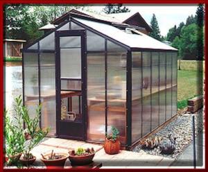 Evangeline Polycarbonate Greenhouse