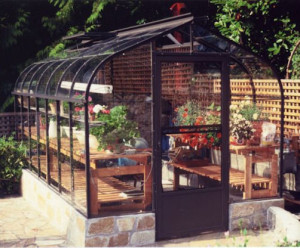 Acadian Curved Glass Greenhouse