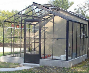 Gable End Attached Greenhouses