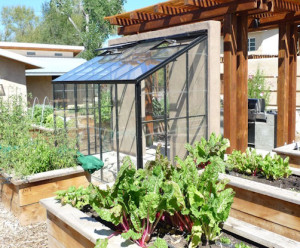 Acadian Lean-To Greenhouse
