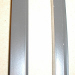 White or Bronze Alumium U for Polycarbonate