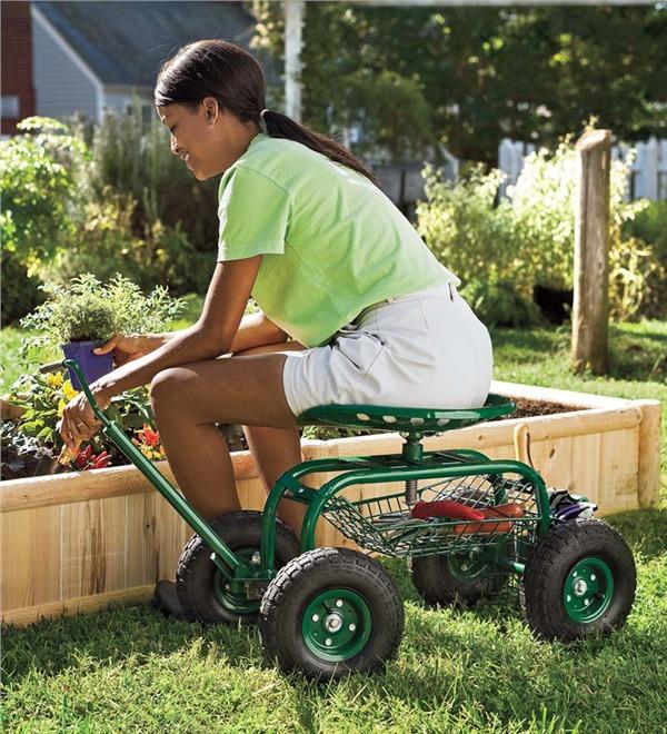 Rolling Garden Seat