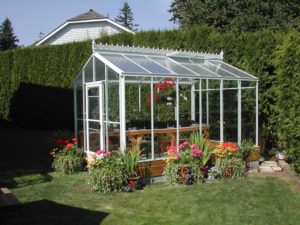 Glass Acadian Greenhouse