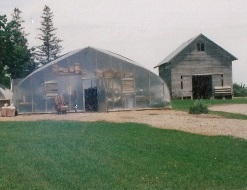 Commercial Double Polyfilm Greenhouses