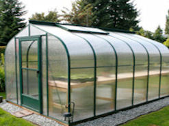 Evangeline Greenhouse 8 x 12 Curved Eave