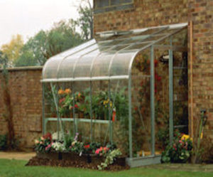 halls silverline lean-to greenhouse