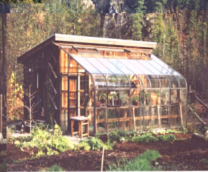 Acadian Glass Lean To Greenhouse