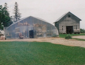 Commercial Double Film Greenhouse
