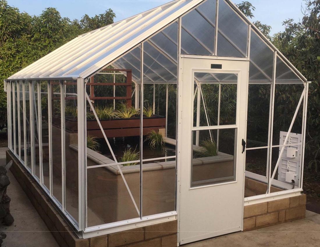 See Thru Polycarbonate Greenhouse Advance Greenhouses