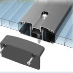 Aluminum Base and Cap