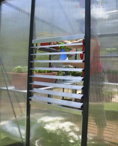 side louver 10mm polycarbonate greenhouse