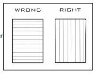 Run polycarbonate sheets vertically
