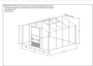 foundation sketch 8 x 8 evangeline