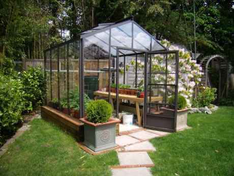 Acadian glass greenhouse